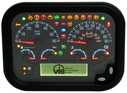 Universal-Instrument-Panel-message-center